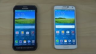 Samsung Galaxy S5 Active vs. Samsung Galaxy S5 Android 5.0 Lollipop - Review (4K)