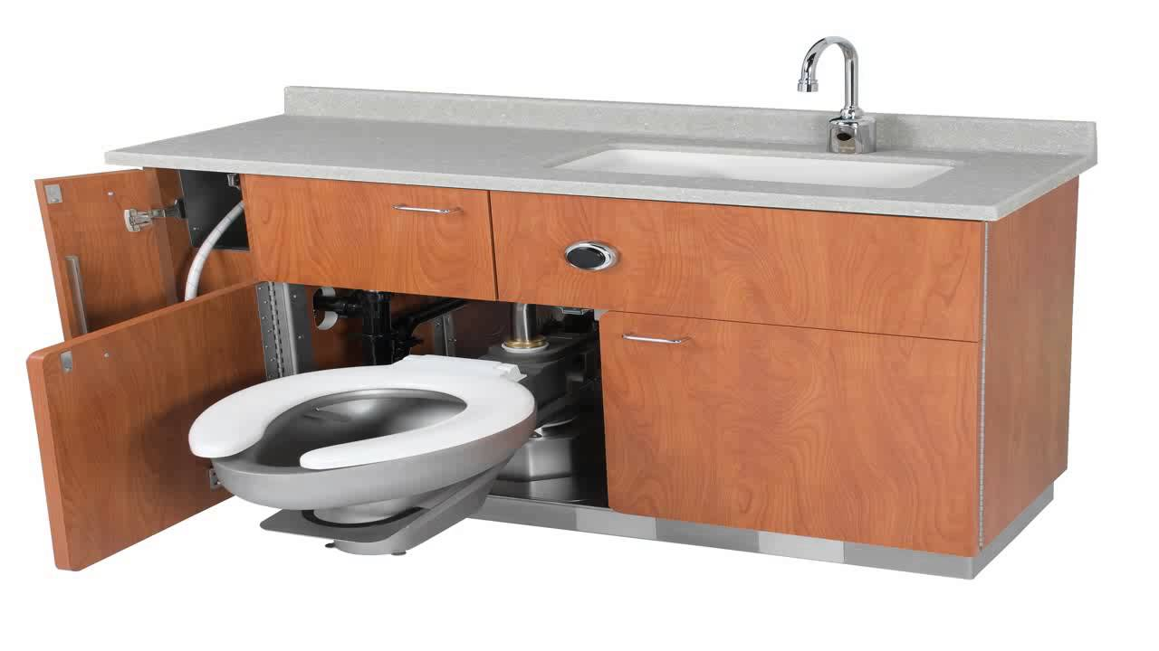 Combination Toilet With Lavatory - YouTube