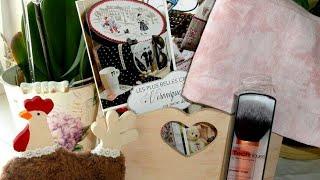 Рукодельные покупки и подарки апрель 2016.(Всех кого упоминала в этом видео: Канал Марины и видеообзор на журнал https://www.youtube.com/watch?v=uZv20a3NT78 Канал Оксаны..., 2016-04-27T12:07:37.000Z)