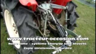 lame neige et multi fonction chargup pour micro tracteur mpg