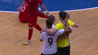 Международный турнир по мини-футболу на призы Тюменской области. Лучшие моменты. «Тюмень» - «Аят»
