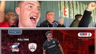 Scunthorpe United 2 Barnsley 2   Great Character To Come Back!   Matchday Vlog#6