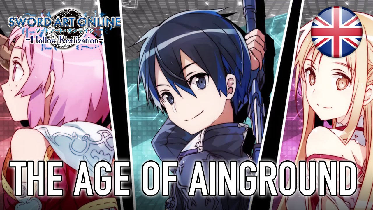 Sword Art Online: Hollow Realization - PS4/PS Vita - The age of Ainground  (English Trailer) - YouTube