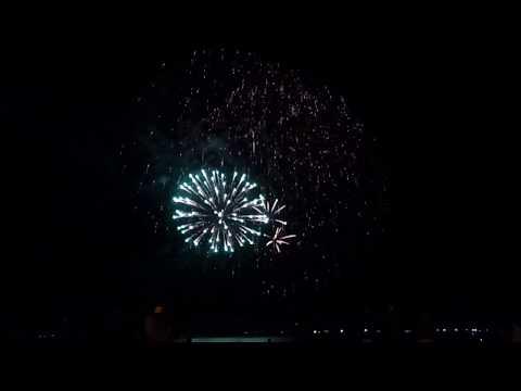 fuochi d'artificio marina di carrara 2017