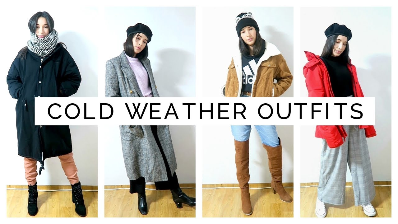 COLD WEATHER OUTFIT IDEAS   Layering for Winter 8