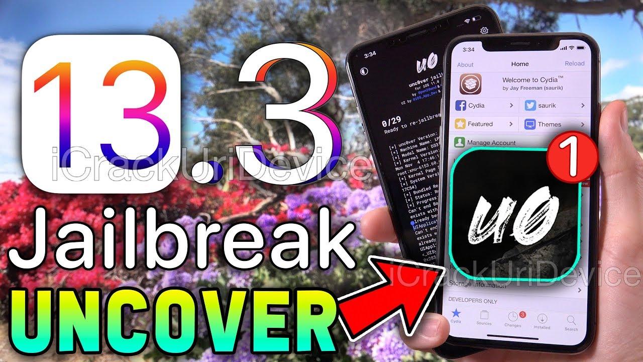 New Ios 13 Jailbreak 13 3 Update Unc0ver Now No Computer Youtube