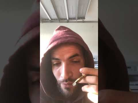 (Weed reviews) best strain of 2018 gelato raw cone vs raw paper king size