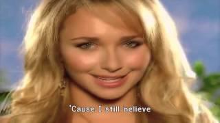 Video Hayden Panettiere - I Still believe (Lyrics) 720HD download MP3, 3GP, MP4, WEBM, AVI, FLV Maret 2018