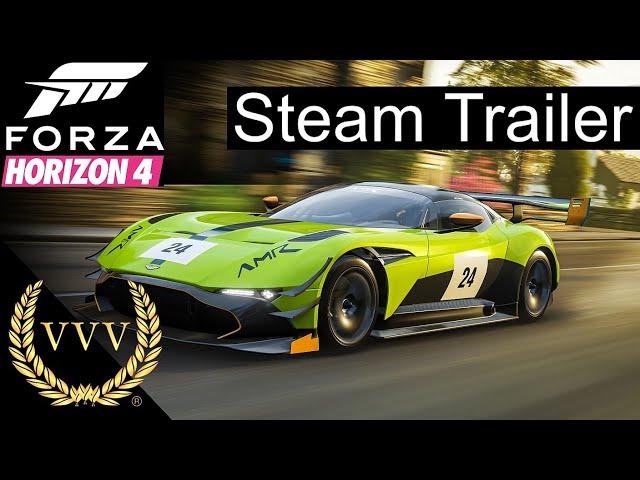 Forza Horizon 4 coming to Steam trailer