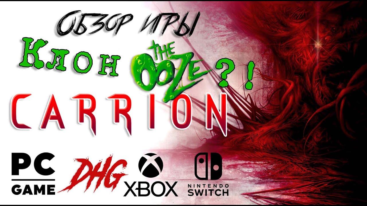 DHG #40 Обзор игры Carrion для PC, Xbox One, Nintendo Switch (Хоррор наоборот, клон The Ooze)