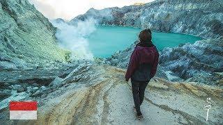 Mount Ijen - Einer der giftigsten Orte der Welt + Fähre Java nach Bali l Backpacking Indonesien #7