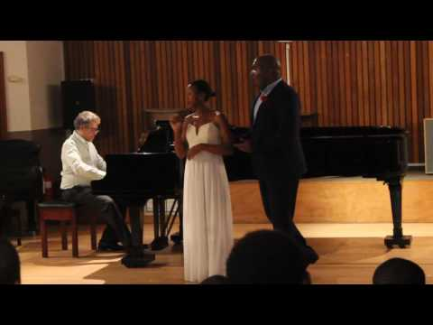 Sipho Qabithole and Sinesipho Funo '' La ci darem la mano'' By W.A Mozart