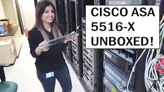 cisco ASA 5516 X - Unboxing! (4K)