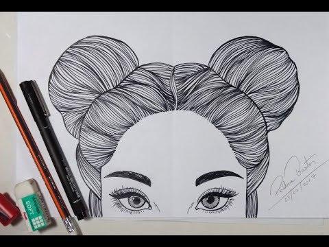 Como Desenhar Uma Garota Tumblr Passo A Passo Arteeciabrasil