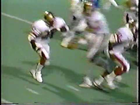 1985 USFL Oakland Invaders at Birmingham Stallions