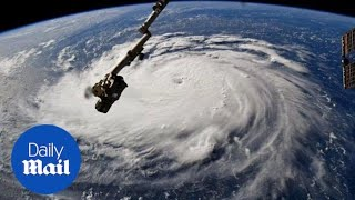 Hurricane Florence strengthens to Category 4 with winds up to 140mph
