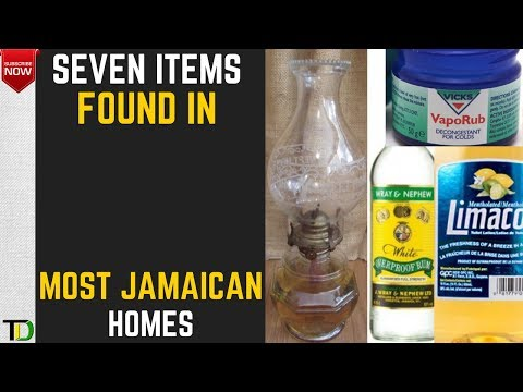 Seven must have items in a Jamaican Home.