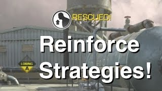 Reinforce Strategies/Tips & Tricks | 20-4 Reinforce Gameplay (CoD Ghosts)