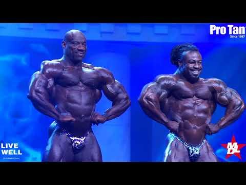 Men's Bodybuilding Open Finals Arnold Classic Ohio 2018 (William Bonac)