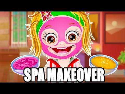 baby hazel spa makeover fun game videos by baby hazel games youtube. Black Bedroom Furniture Sets. Home Design Ideas