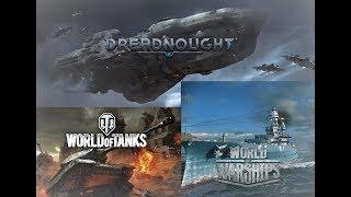 World of Tanks/Dreadnought ★Spontan stream | Bis die Rohre glühen! #4 (German)