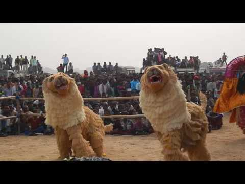 Puruliya Chhou dance   Mahisasur Bodh
