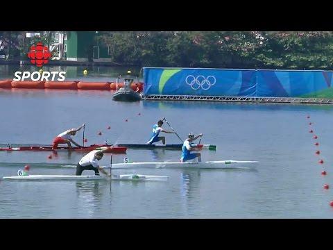 Men's Canoe Sprint: Canoe Single 1000M Semifinal | Rio 2016 | CBC Sports