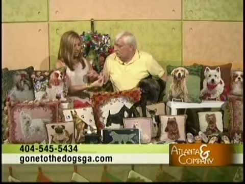 Gone To The Dogs A Unique Gift Shop  DogThemed Needlepoint Acc