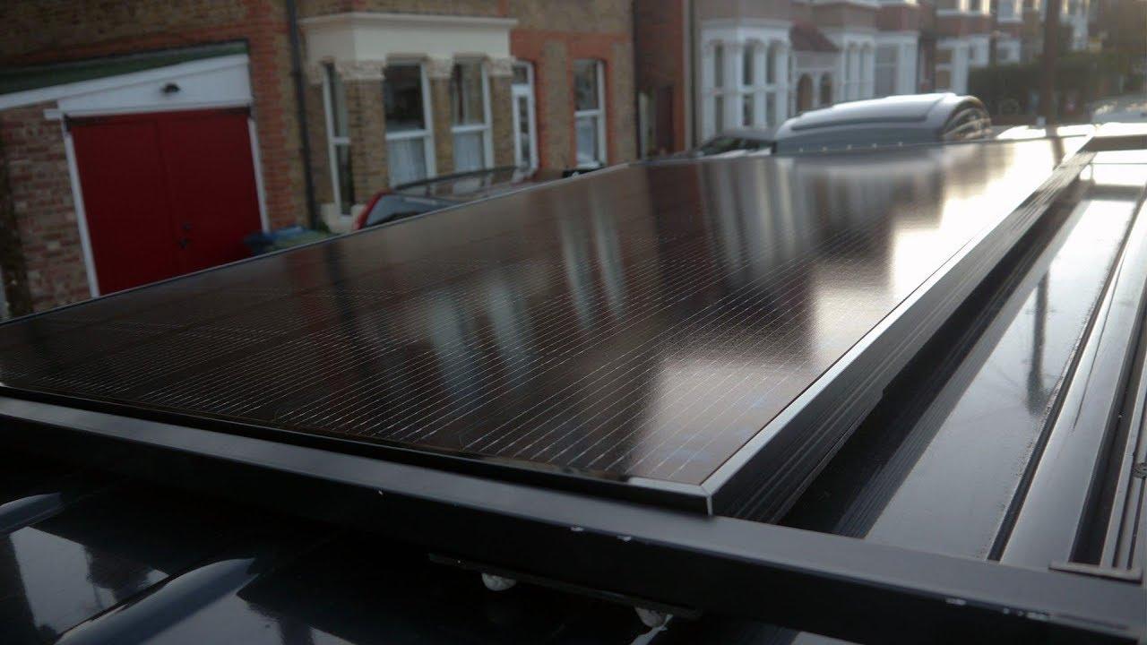 Solar Installation on Mercedes Sprinter Camper - 320 Watt LG Panel