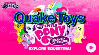 Update My Little Pony Cutie Mark Magic Game Friendship Celebration App QuakeToys Lets Play 1