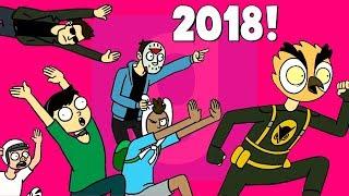 👑 Garry's Mod Смешные моменты (перевод) - ЛУЧШЕЕ ЗА 2018 ГОД. ЧАСТЬ 2 (Гаррис Мод)