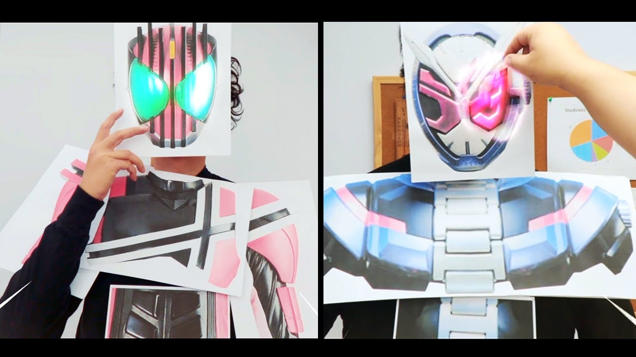 EPIC SCHOOL FIGHT 🔥 中二病 Kamen Paper Rider 仮面ライダーシリーズ