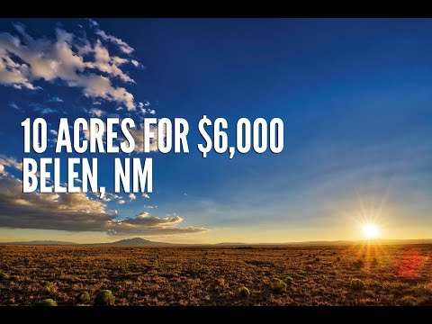 New Mexico Land For Sale: 10 Acres outside Belen in Valencia County