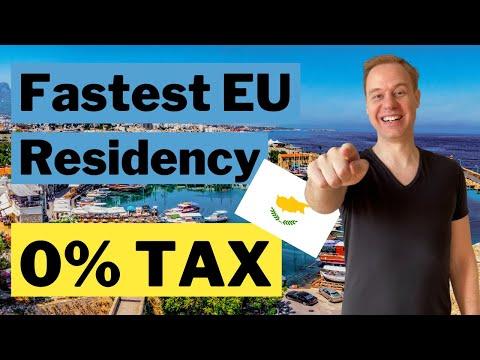 Fastest EU Permanent Residency 0% Tax Cyprus Regulation 6.2