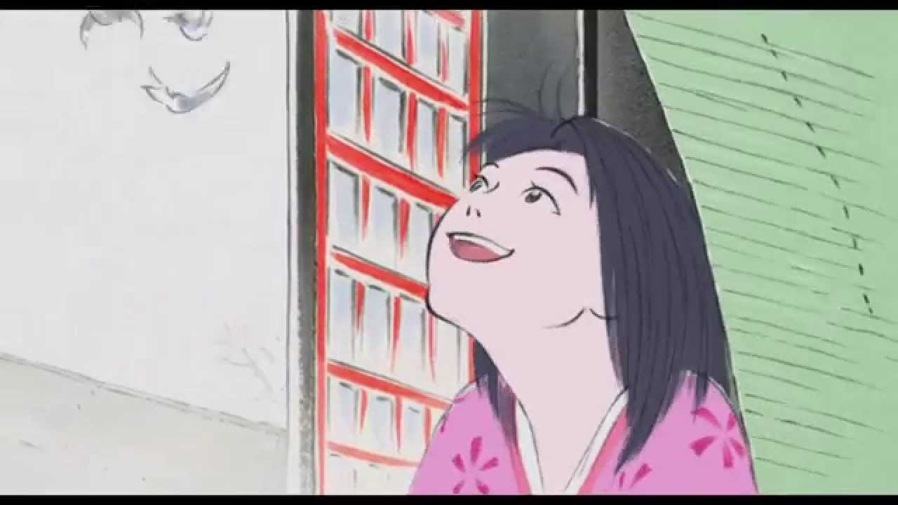 THE TALE OF THE PRINCESS KAGUYA - Going Outside - Film Clip