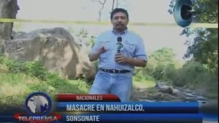 Masacre en Nahuizalco, Sonsonate.