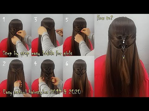 New Hairstyle 2020 Girl Simple Hairstyle Girls