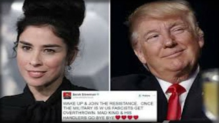 SARAH SILVERMAN CALLS FOR A MILITARY COUP AGAINST TRUMP THEN GETS THE WORST NEWS OF HER LIFE!!