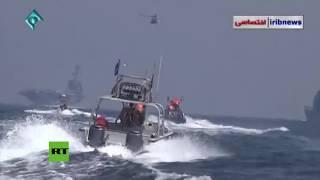 Lanchas iraníes persiguen a un portaviones de EE.UU. en el estrecho de Ormuz