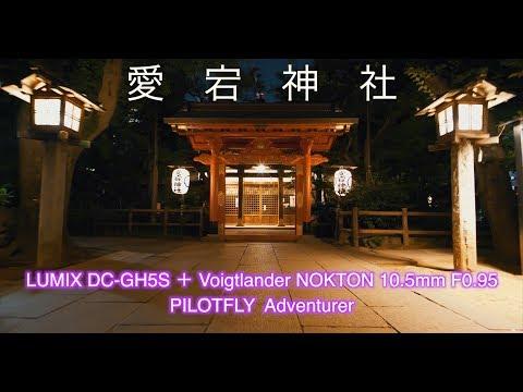 愛宕神社  4K LUMIX DC-GH5S + Voigtlander NOKTON 10.5mm F0.95 PILOTFLY  Adventurer