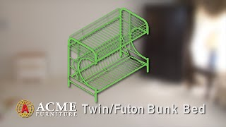Acme Furniture Twin/full Futon Bunk Bed Assembly