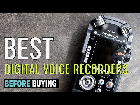 TOP 4: Best Digital Voice Recorders 2017