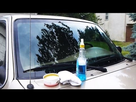 How to Super Clean your Windshield