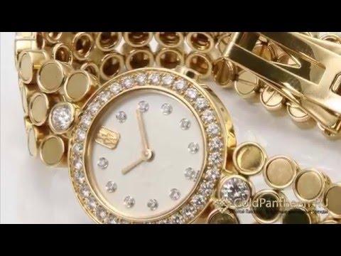 Женские золотые часы с бриллиантами Harry Winston 2787