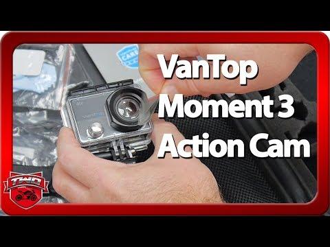 VanTop Moment 3 Action Camera Review
