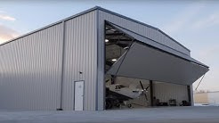 Metal Building Outlet Aircraft Hangar Project & Customer Testimonial - Longmont, CO