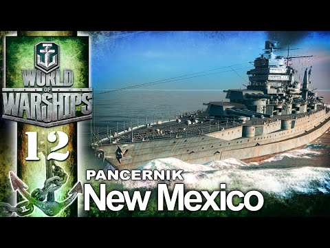 Pancernik NEW Mexico - BITWA - World of Warships