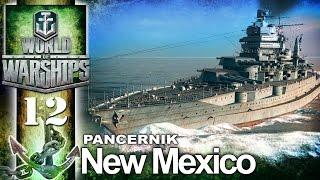 Pancernik NEW Mexico - BITWA - World of Warships