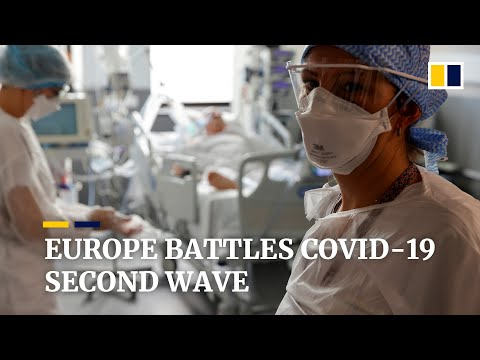 Coronavirus: Europe's second wave puts hospitals under pressure again as cases soar