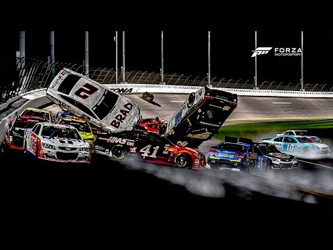 Generate Lapped Car Destroyed The Pack! | Forza Motorsport 6 | NASCAR Expansion Snapshots